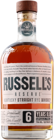 Russel's Reserve 6yr Old Rye Whiskey