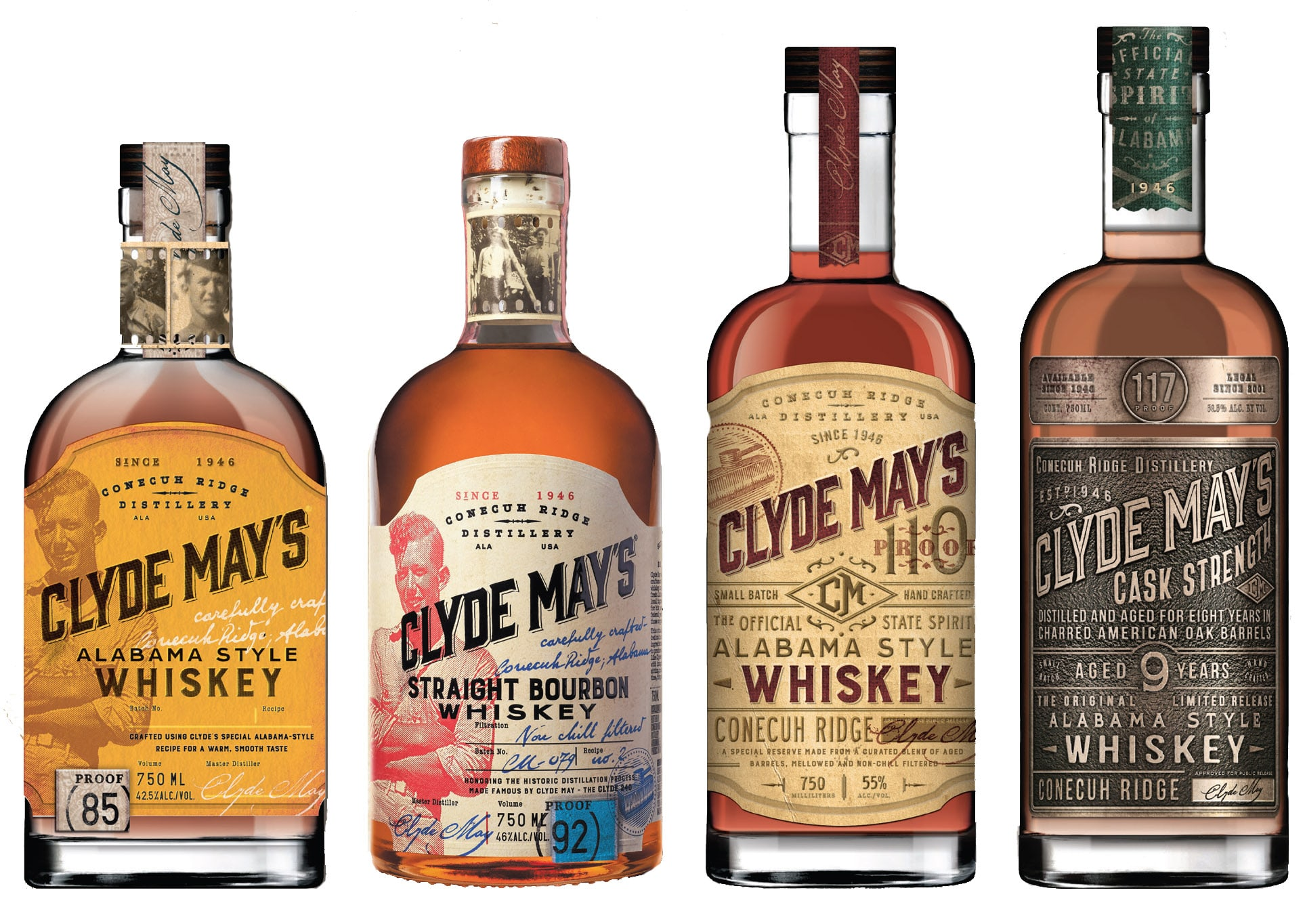 Clyde Mays Whiskey