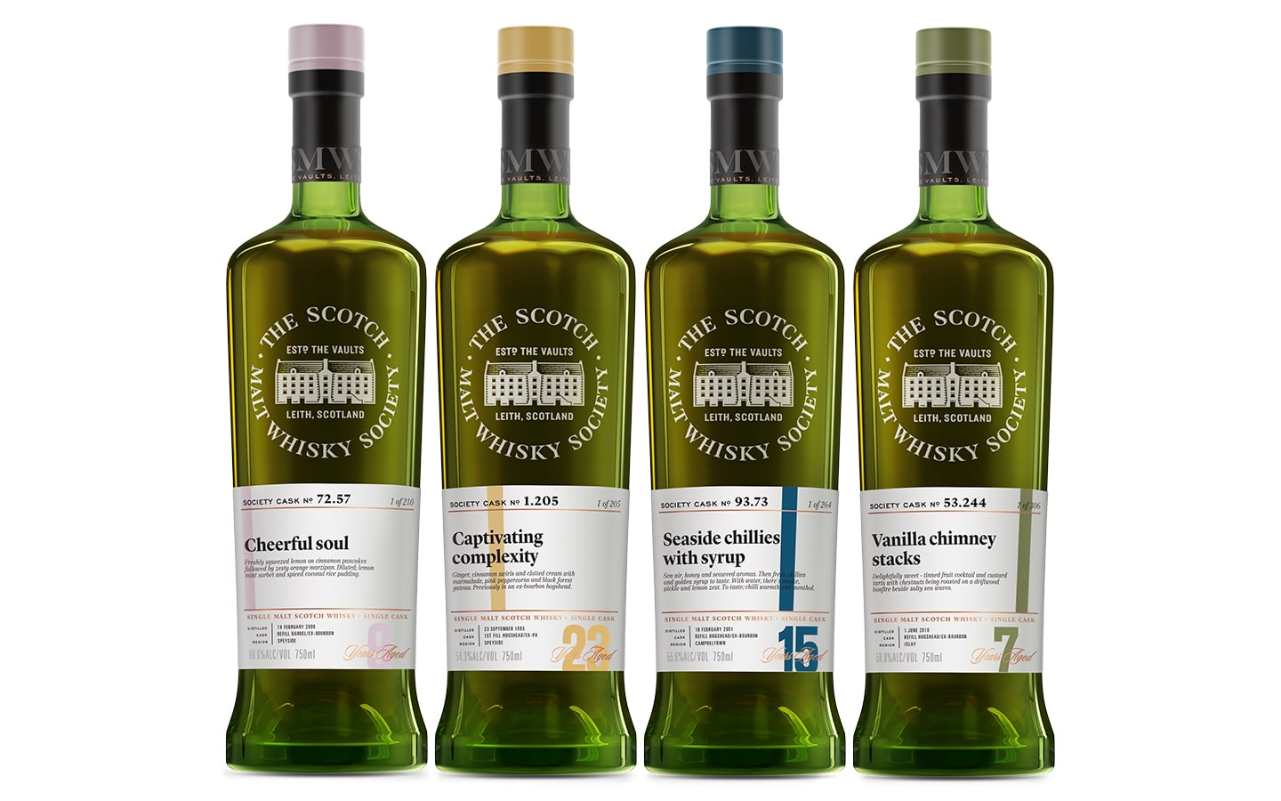 Scotch Malt Whiskey Society Product